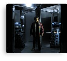 Genesis of the Daleks Canvas Print