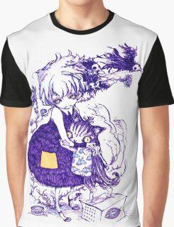 Kitty hug Graphic T-Shirt