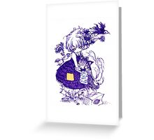 Kitty hug Greeting Card