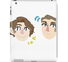 Charles and Erik iPad Case/Skin