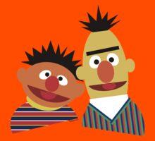 Ernie and Bert Kids Tee
