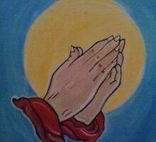 Prayer Hands by damon  milton