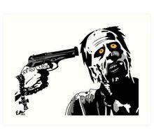Spiritus Zombie Art Print