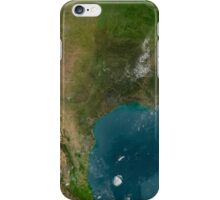 View of Southern United States and Mexico. iPhone Case/Skin
