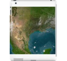 View of Southern United States and Mexico. iPad Case/Skin