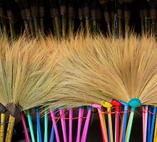 Brooms by Walter Quirtmair