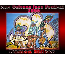 2006 New Orleans Jazz Festival Poster Photographic Print
