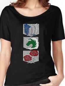 Shingeki no kyojin Women's Relaxed Fit T-Shirt