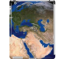 The Blue Marble Next Generation Earth showing the Middle East. iPad Case/Skin
