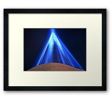 Lightsaber in Dublin Framed Print