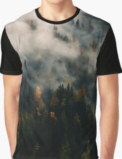 Forest In The Mist Graphic T-Shirt