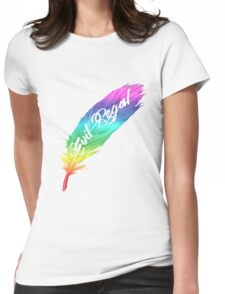 evil regal 4 equality Womens Fitted T-Shirt
