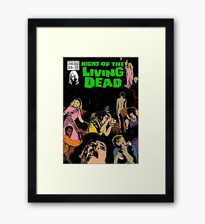 Night of the Living Dead Framed Print