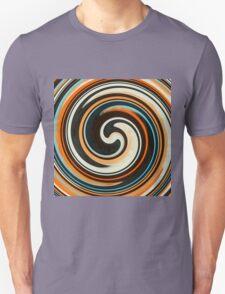 Modern Swirl Abstract Art #3 T-Shirt