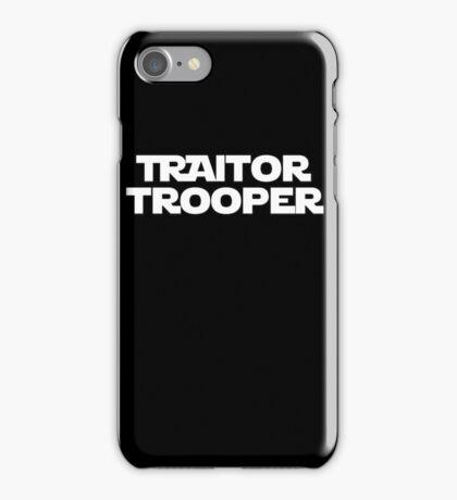 Traitor Trooper iPhone Case/Skin