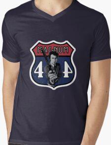 44 Magnum Mens V-Neck T-Shirt