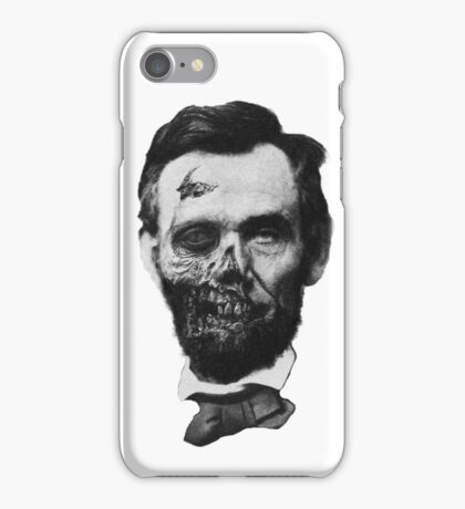 Undead Lincoln iPhone Case/Skin