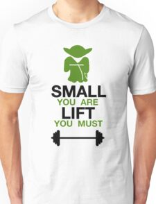 Yoda Lifting Inspiration  Unisex T-Shirt