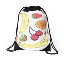 Fruit Salad Drawstring Bag