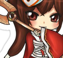 Chibi Blood Moon Akali - League of Legends Sticker