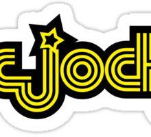 Disc Jockey Music Quote Sticker
