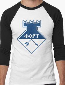FORT Technologia (blue) Men's Baseball ¾ T-Shirt