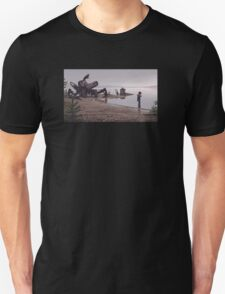 In the mud Unisex T-Shirt