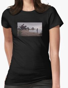 In the mud Womens Fitted T-Shirt
