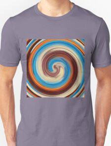 Modern Swirl Abstract Art #4 T-Shirt