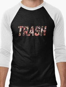 Trash Men's Baseball ¾ T-Shirt