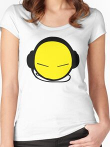 DJ Smile Rave 2 Women's Fitted Scoop T-Shirt