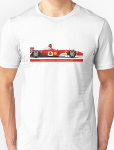 Michael Schumacher  - Ferrari F2002 - No Tobacco Unisex T-Shirt