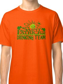 St Patricks Day Drinking Team Classic T-Shirt