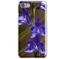 Thelymitra ixioides (Spotted Sun Orchid) iPhone Case/Skin