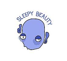 Sleepy Beauty Photographic Print