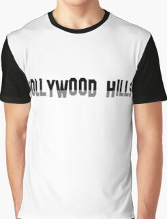 HollyWood Hills Graphic T-Shirt