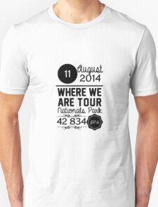 11th August - Nationals Park WWAT T-Shirt