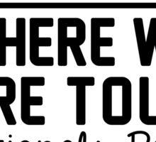 11th August - Nationals Park WWAT Sticker