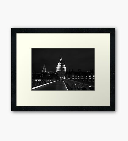 St Pauls Cathedral London Framed Print