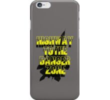 TOP GUN - DANGER ZONE iPhone Case/Skin