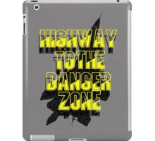 TOP GUN - DANGER ZONE iPad Case/Skin