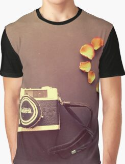 Father's Camera Graphic T-Shirt