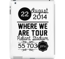 22th august - Reliant Stadium WWAT iPad Case/Skin