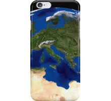 The Blue Marble Next Generation Earth  showing the Mediterranean Sea. iPhone Case/Skin
