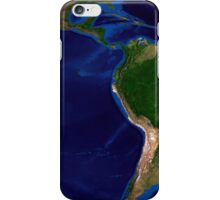 The Blue Marble Next Generation Earth showing South America. iPhone Case/Skin