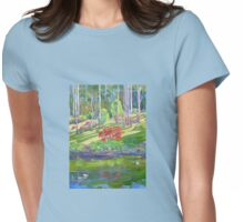 Tamborine Mountain Botanical Gardens ,Early Spring Womens Fitted T-Shirt