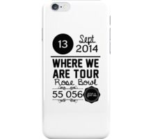 13th September - Rose Bowl WWAT iPhone Case/Skin