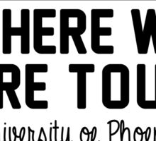 16th september - University of Phoenix Stadium WWAT Sticker