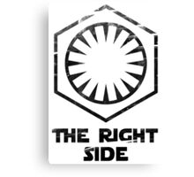 The RIGHT side Canvas Print
