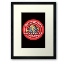 That's the Force Folks! Framed Print